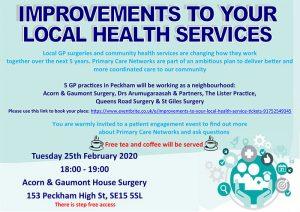 Southwark Health Poster